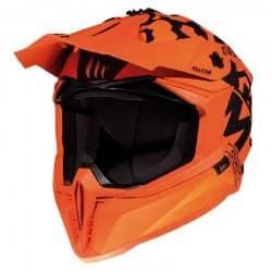 Мотошлем MT Falcon Karson Orange/Black