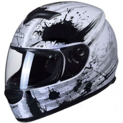 Шлем Awina Motoline B3 White-Grey