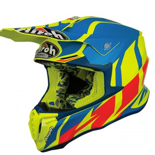 Шлем Airoh Twist Great Azure Yellow-Blue-Red