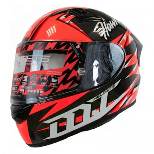 Шлем MT KRE Snake Carbon Hawkers Red-Black-White