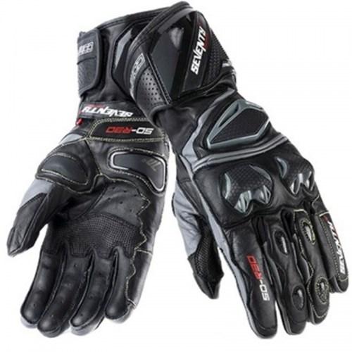 Мотоперчатки Seventy SD-R30 Summer Racing Black-Grey