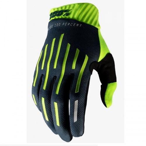 Мотоперчатки 100% Ride Ridefit Yellow-Black