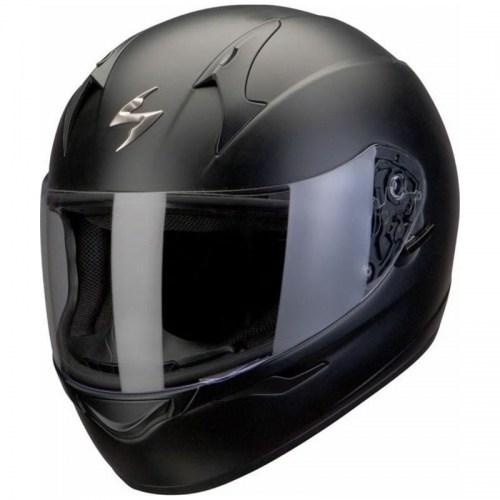 Мотошлем Scorpion Exo-390 Black Mat