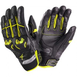 Мотоперчатки Seventy SD-N32 Summer Naked Black-Yellow