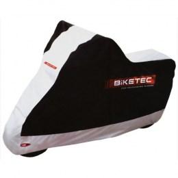 Чехол для мотоцикла Biketec Aquatec Black-Silver