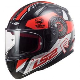 Мотошлем LS2 FF353 Rapid Stratus Black/Red