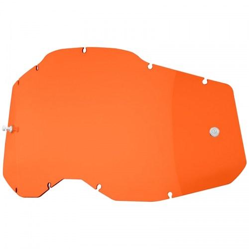 Линза к очкам Ride 100% Racecraft/Accuri/Strata Replacement Lens Orange Anti-Fog, Colored