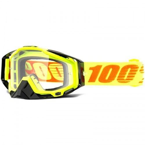 Мотоочки Ride 100% Racecraft Attack Yellow/Black Clear Lens