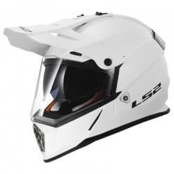 Мотошлем LS2 MX436 Pioneer White