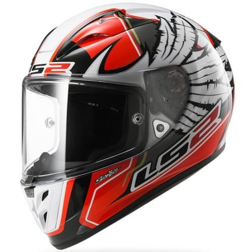 Мотошлем LS2 FF323 Arrow Yonny Red/White/Black