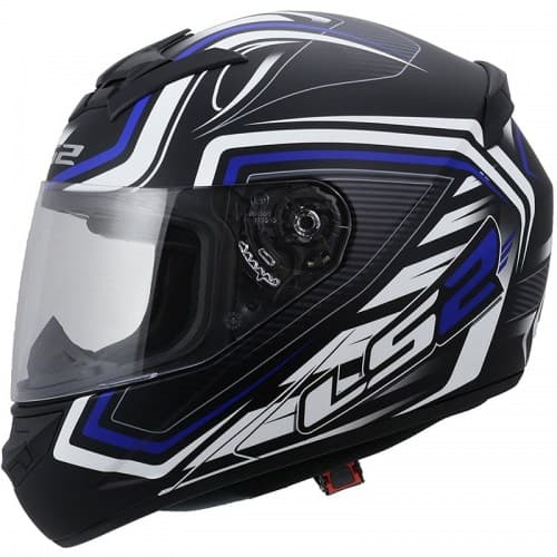 Мотошлем LS2 FF352 Rookie Ranger Black/Blue