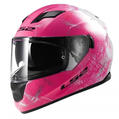 Мотошлем LS2 FF320 Stream Wind White/Pink