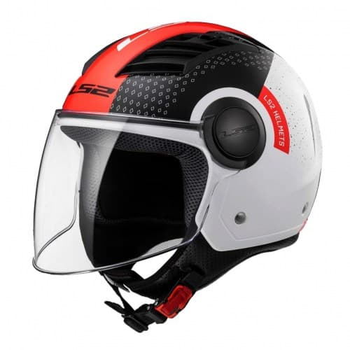 Мотошлем LS2 OF562 Airflow L Condor White/Black/Red