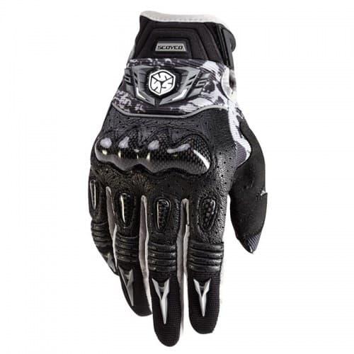Перчатки Scoyco MX49 Black/Grey