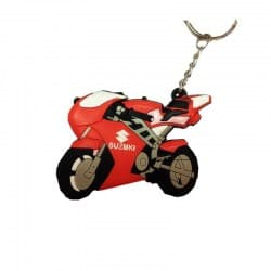 Брелок Motorace MTL-023 Red/White