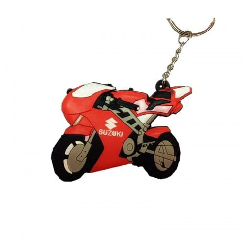 Брелок Motorace MTL-023 Red/White