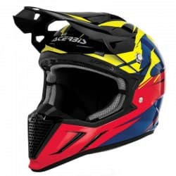 Мотошлем Acerbis Profile 2.0 Powerhead Yellow/Red/Blue