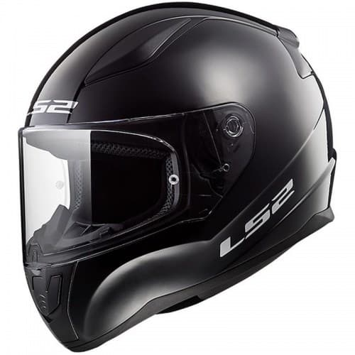 Мотошлем LS2 FF353 Rapid Solid Black Gloss