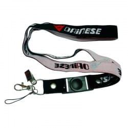 Шнурок для ключей Motorace ANN-014 Black/White/Red