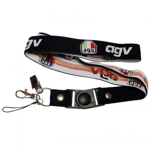 Шнурок для ключей Motorace ANN-018 Black