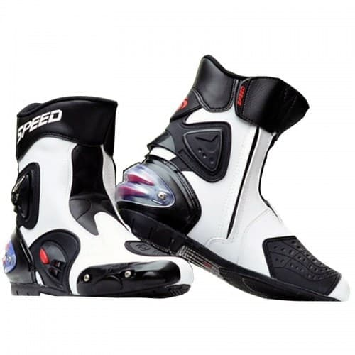 Мотоботы Probiker Speed A004 White/Black
