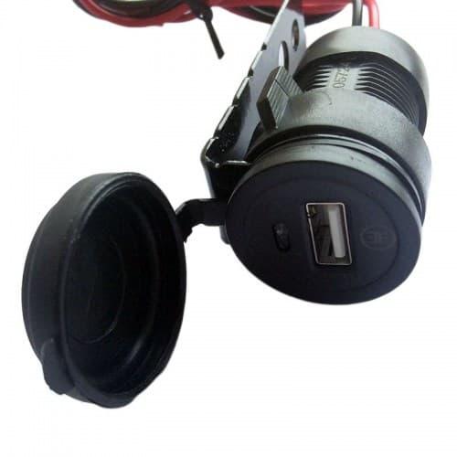 Гнездо USB Motorace PLC-009