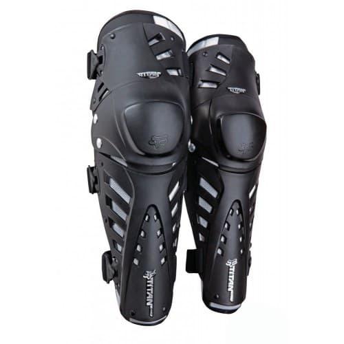 Мотонаколенники FOX Titan Pro Knee Guard CE Black