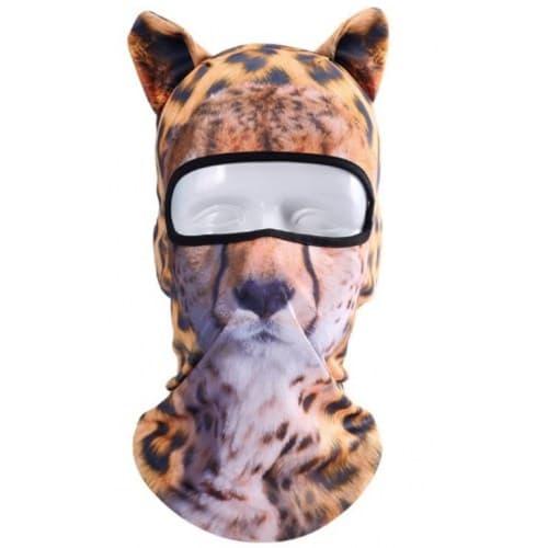 Подшлемник JuiSuyi Cheetah Face with Ears