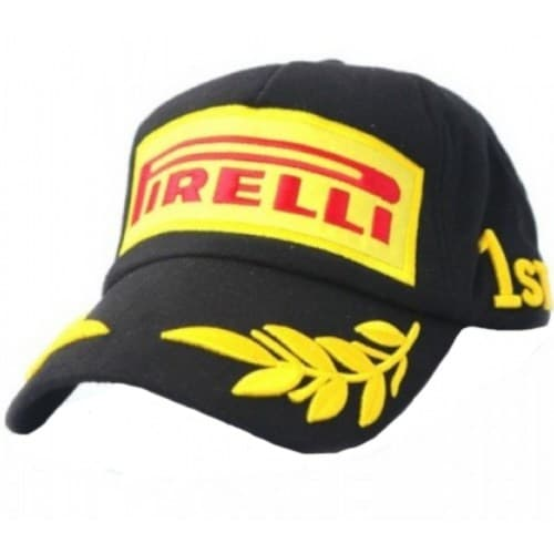 Бейсболка Motorace FKL-92 (Pirelli) Black
