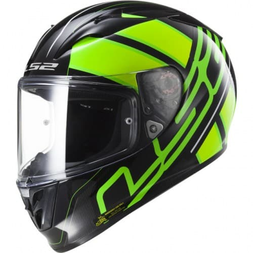 Мотошлем LS2 FF323 Arrow R Ion Fluo Black/Green