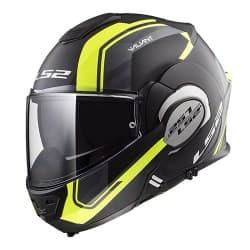 Мотошлем LS2 FF399 Valiant Line HI-Vis Black/Yellow