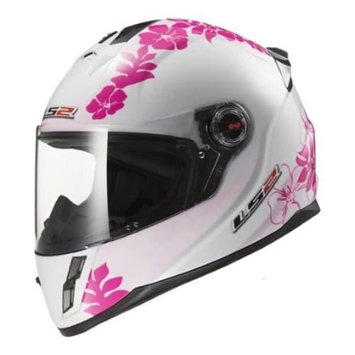 Мотошлем LS2 FF392J Kid Vanity White/Pink