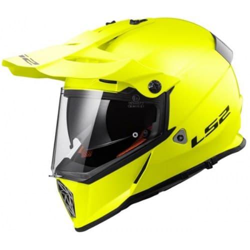 Мотошлем LS2 MX436 Pioneer Solid HI-Vis Yellow