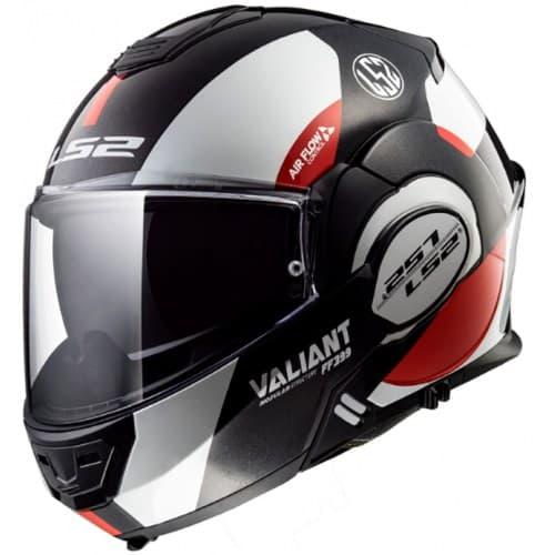 Мотошлем LS2 FF399 Valiant Avant White/Black/Red