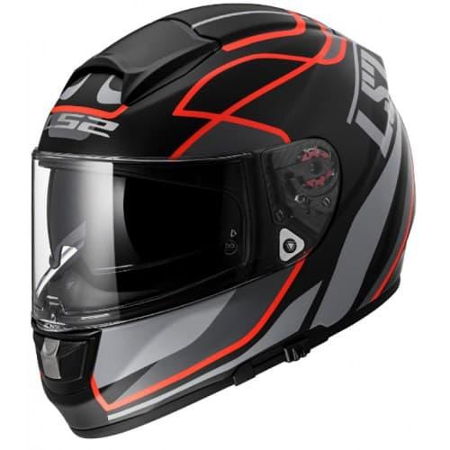 Мотошлем LS2 FF397 Vector Vantage Black/Red