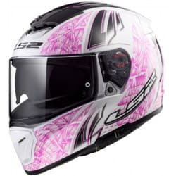 Мотошлем LS2 FF390 Breaker Rumble White/Pink