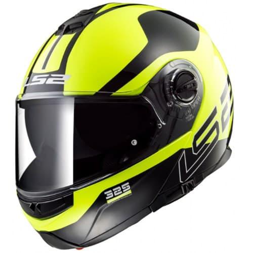 Мотошлем LS2 FF325 Strobe Zone HI-Vis Yellow/Black