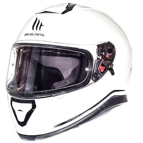 Мотошлем MT Thunder 3 Solid Black Gloss