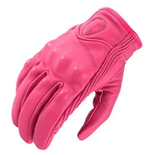 Мотоперчатки Icon Pursuit Pink