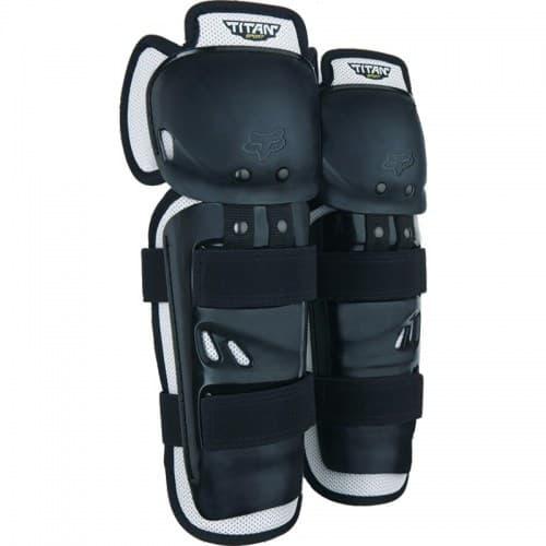 Мотонаколенники FOX Titan Sport Knee Guard CE Black