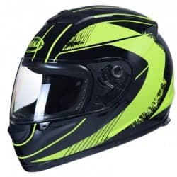 Мотошлем Awina Motoline A1 Black/Green