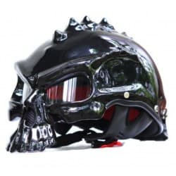Мотошлем Masei 489 Black Glose