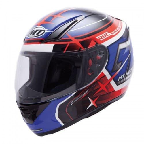 Мотошлем MT Revenge Replica GP Black/Blue/Red