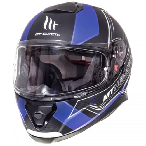 Шлем MT Thunder 3 SV Trace Black/Green Mat