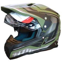 Шлем MT Synchrony Duo Tourer Green/Black