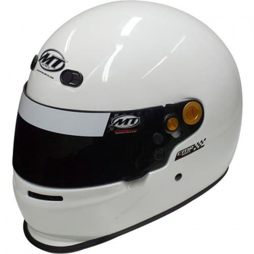 Мотошлем MT Karting CMR Kid White