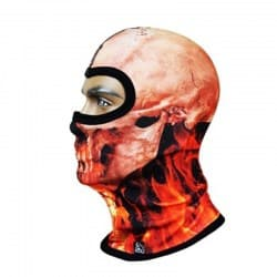 Подшлемник Radical Subskull Orange/Brown/Black