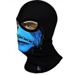 Подшлемник Radical Subskull Phantomas Eyes Black/Blue/Green