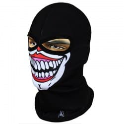 Подшлемник Radical Subskull Halloween Eyes Black/White/Red