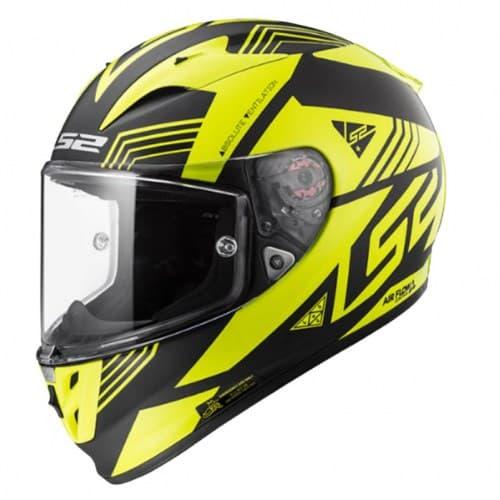 Мотошлем LS2 FF323 Arrow R Neon Black/Yellow